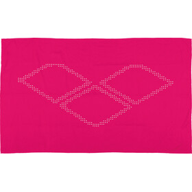 arena Halo Towel fresia rose-white
